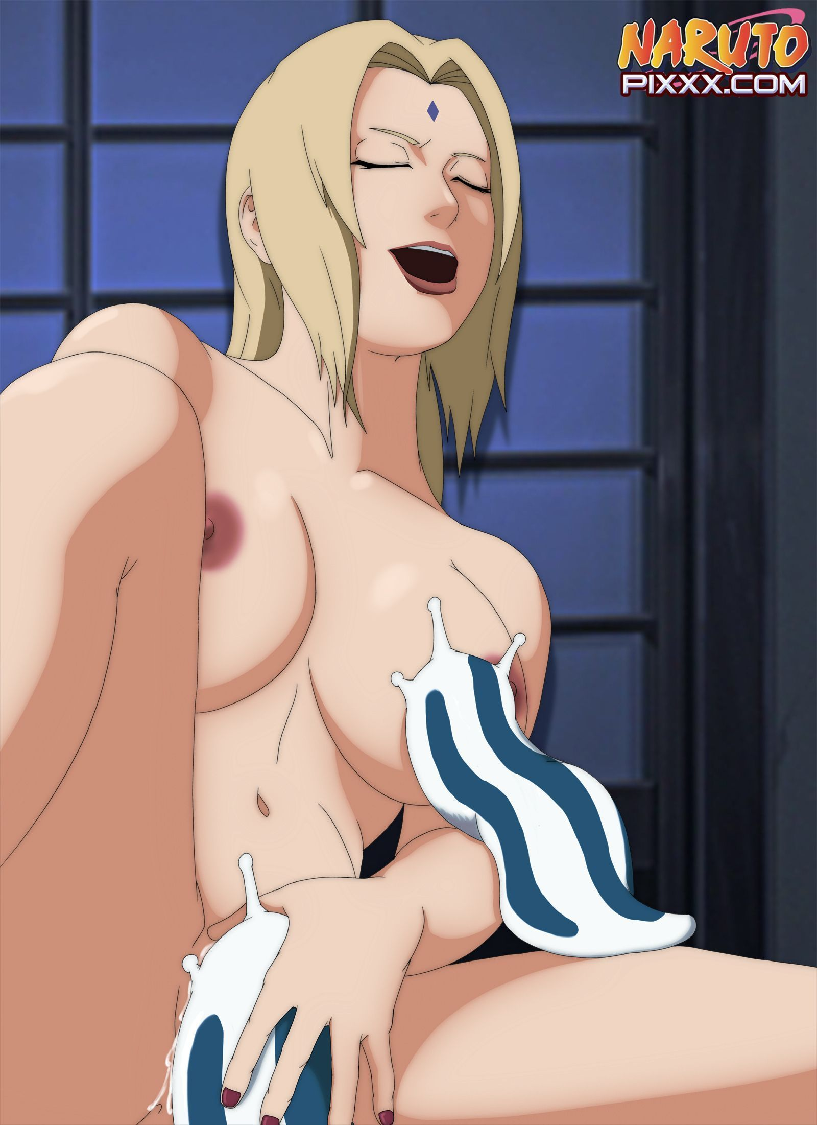 sexy tsunade and other girls masturbate